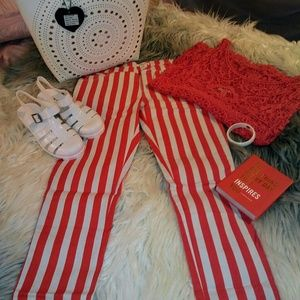 Sale! BOGO 50% OFF! Sexy New Striped Pants